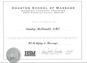 Stans Healing hands Massage Certifications Massage therapy school